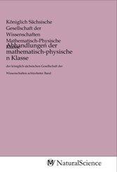 Abhandlungen der mathematisch-physischen Klasse