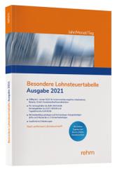 Besondere Lohnsteuertabelle 2021 Jahr/Monat/Tag