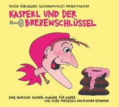 Kasperl und der Brezenschlüssel, 2 Audio-CD