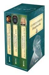 Charles Darwin Hauptwerke: 3 Bände im Schuber
