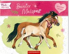 Pferdefreunde: Bunter Malspaß