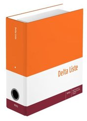 Delta Liste, Gesamtwerk, Delta Liste 2-tlg. Registersatz