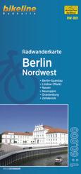 Radwanderkarte Berlin Nordwest RW-B01