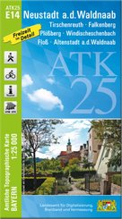 ATK25-E14 Neustadt a.d.Waldnaab (Amtliche Topographische Karte 1:25000, Freizeit im Detail)