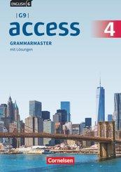 English G Access - G9 - Ausgabe 2019 - Band 4: 8. Schuljahr Grammarmaster - Mit Lösungen - Bd.4