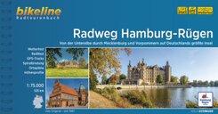 Radweg Hamburg-Rügen