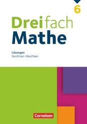 Dreifach Mathe - Nordrhein-Westfalen - 6. Schuljahr