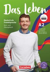 Das Leben - Deutsch als Fremdsprache - Allgemeine Ausgabe - A2: Gesamtband Kurs- und Übungsbuch - Mit PagePlayer-App ink