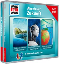 WAS IST WAS - Abenteuer Zukunft, 3 Audio-CDs