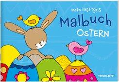 Mein lustiges Malbuch. Ostern