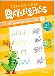 Extradicker Rätselspaß für Kindergartenkinder