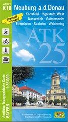 ATK25-K10 Neuburg a.d.Donau (Amtliche Topographische Karte 1:25000)