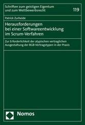 Herausforderungen bei einer Softwareentwicklung im Scrum-Verfahren
