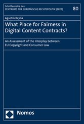What Place for Fairness in Digital Content Contracts?
