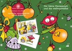 Kamishibai Adventskalender: Der kleine Marsmensch und das Weihnachtsfest
