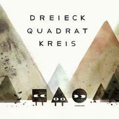 Dreieck, Quadrat, Kreis, 3 Bde.