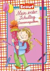 Scout - Mein erster Schultag Erinnerungsalbum (Mädchen)
