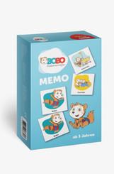 Bobo Siebenschläfer Memo (Kinderspiel)