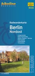 Radwanderkarte Berlin Nordost RW-B02