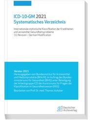 ICD-10-GM 2021 Systematisches Verzeichnis; Band 84