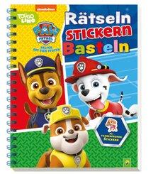 PAW Patrol - Rätseln Stickern Basteln