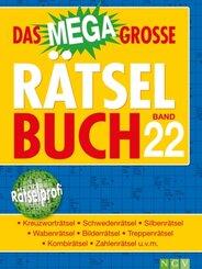 Das megagroße Rätselbuch - .22