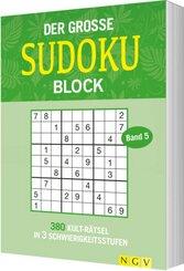 Der große Sudokublock - Bd.5