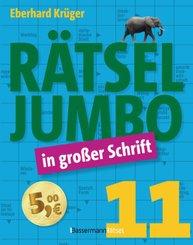 Rätseljumbo in großer Schrift - Bd.11