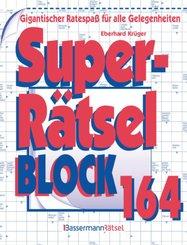 Superrätselblock - Bd.164