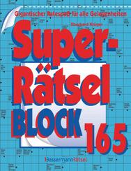 Superrätselblock - Bd.165