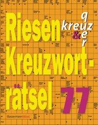 Riesen-Kreuzworträtsel - .77