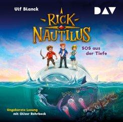 Rick Nautilus - SOS aus der Tiefe, 2 Audio-CD