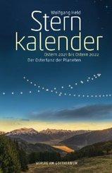 Sternkalender Ostern 2021 bis Ostern 2022