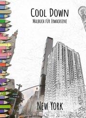 Cool Down   Malbuch für Erwachsene: New York