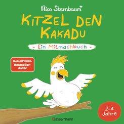 Kitzel den Kakadu - Ein Mitmachbuch zum Schütteln, Schaukeln, Pusten, Klopfen und sehen, was dann passiert. Von 2 bis 4