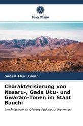 Charakterisierung von Nasaru-, Gada Uku- und Gwaram-Tonen im Staat Bauchi