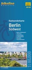 Radwanderkarte Berlin Südwest (RW-B03)