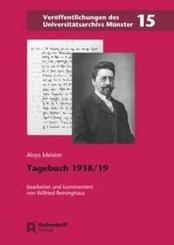 Tagebuch 1918/1919