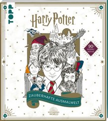 Harry Potter - Zauberhafte Ausmalwelt