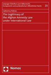 The Legitimacy of the Afghan Amnesty Law under International Law