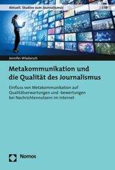 Metakommunikation und die Qualität des Journalismus