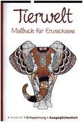 Malbuch für Erwachsene - Tierwelt