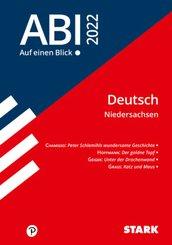 STARK Abi - auf einen Blick! Deutsch Niedersachsen 2022