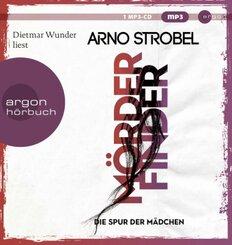 Mörderfinder - Die Spur der Mädchen, 1 Audio-CD,