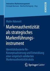 Markenauthentizität als strategisches Markenführungsinstrument