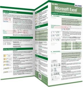 Excel 2019 und 365 - Formeln und Funktionen kompakt, 1 Falttafel