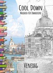 Cool Down | Malbuch für Erwachsene: Venedig