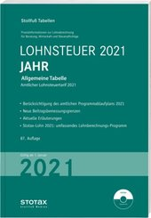 Tabelle, Lohnsteuer 2021 Jahr
