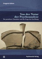 Von der Natur der Psychoanalyse
