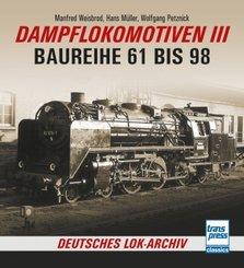 Dampflokomotiven III